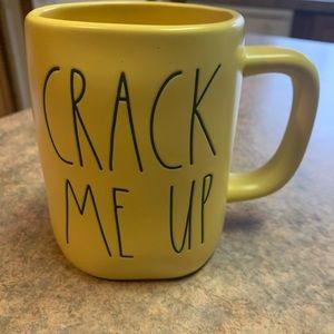 New Rae Dunn Crack Me Up mug